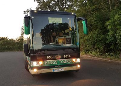 KC14 ABC at Summerhill House Hotel on the Kings Coaches Irish tour