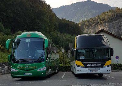 KC65 ABC at Salem Castle on the Kings Coaches Summer Alpine Dreams tour